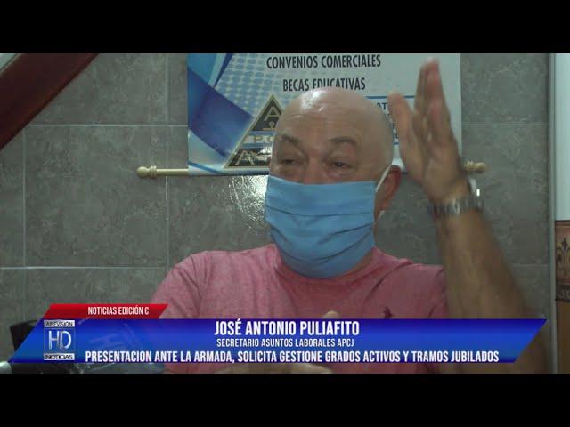 José Puliafito Sec Laboral APCJ Presentación ante la ARA solicitando gestione grados activos y tramo