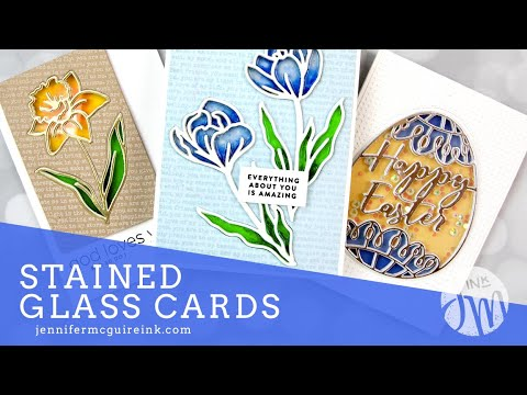 Stained Glass Window Cards