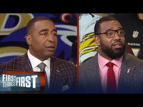 Cris Carter on the Steelers' win over Ravens, Harbaugh on the hot seat? | NFL | FIRST THINGS FIRST