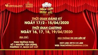 Thách thức danh hài 7: Chương trình hài quốc dân THÔNG BÁO CASTING MÙA 7 khu vực TP.HCM