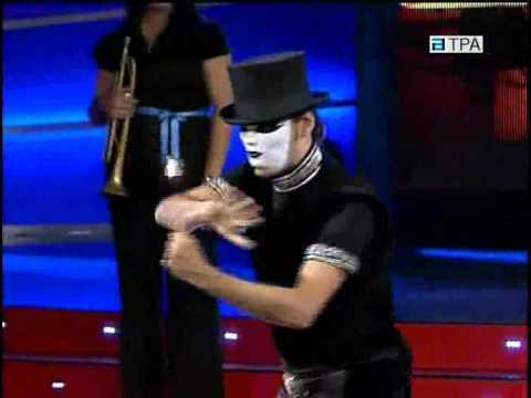 Noel's experimental performance on TV
