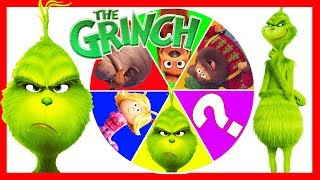 The Grinch Movie Spin the Wheel Game for Christmas Presents, Wreck it Ralph, Paw Patrol Toys