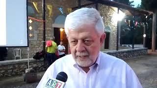 O Δήμαρχος Τρίπολης στο εξωκλήσι του Αγίου Ιωάννου του Νηστευτή στην Τρίπολη