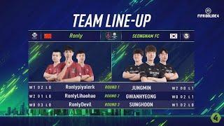 Ronly vs Seongnam FC - Tứ Kết Phân Nhánh [EACC Spring 2019]
