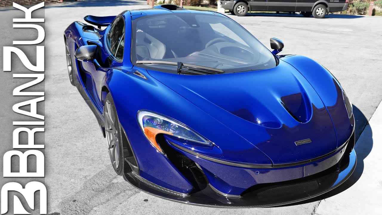 blue mclaren p1 wallpaper - photo #43
