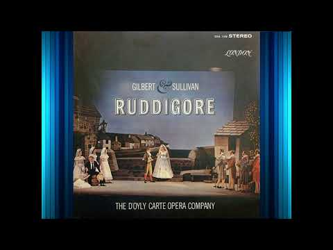 RUDDIGORE (ACT 1, Re recorded)--D'Oyly Carte (1962)--G&S; VINYL