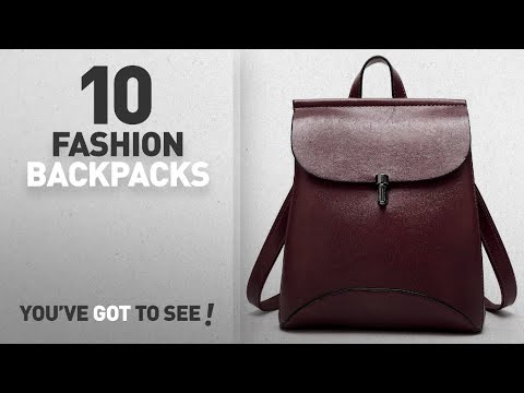 Top 10 Fashion Backpacks For Women [ Winter 2018 ]: SiMYEER Women's Pu Leather Backpack Purse Ladies