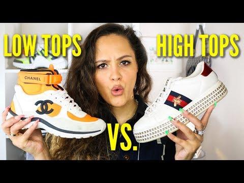 designer high tops womens