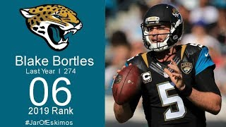 #6 Blake Bortles (QB Jaguars) | Top 100 players of 2019 NFL