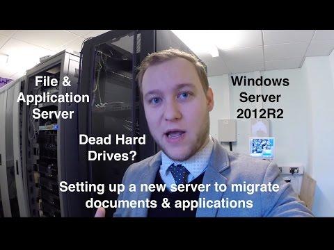 File & Application Server Migration 2012R2