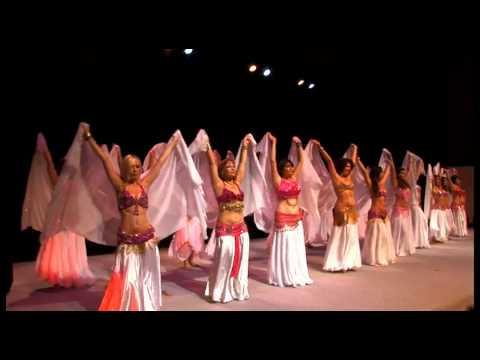 Danse Orientale Montpellier Les Orientales - Intermédiaires voile