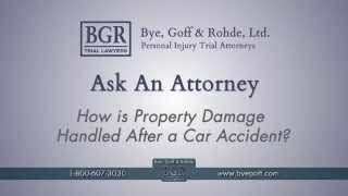 How Is Property Damage Handled After Accident?