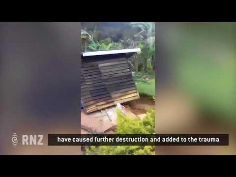 Papua New Guinea earthquake damage