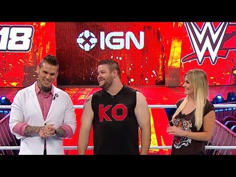 WWE 2K18 Roster Reveal - Part 3 - Kevin Owens Reveals 41 Superstars!