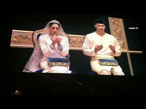 Johor princess full Bersanding ceremony