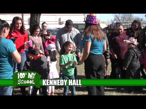 100th Day of School -Kennedy Hall FEB2016