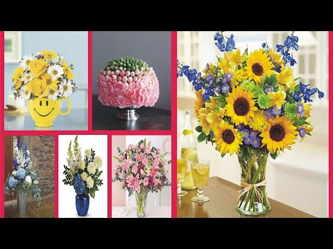 beautiful-flower-bouquet-and-gift-bouquet-arrangement-with-qouets