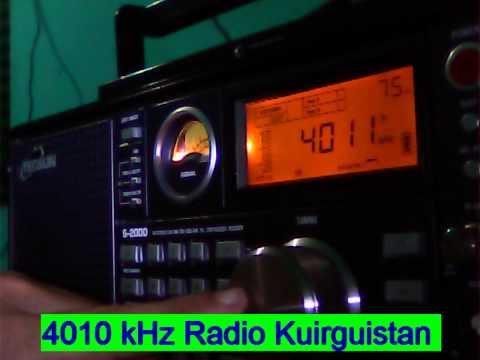 4010 kHz Kyrgyz Radio 1  , Bishkek , Kyrgyzstan