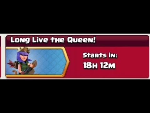 Long Live  The Queen & Fearless Five Clash Of Clans  New Event Full Information