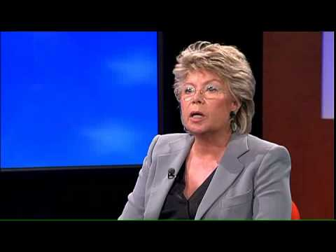 Truffle100, Interview Mrs Viviane Reding by Bernard-Louis Roques, Part 1