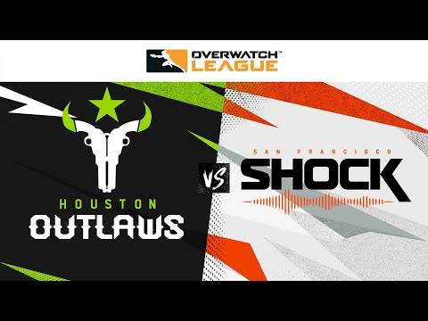 Houston @Outlaws vs @San Francisco Shock | Opening Weekend | Jour 3 - Ouest