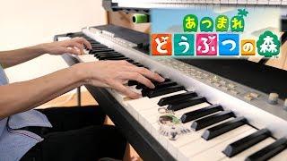 【あつまれどうぶつの森】メインテーマ 弾いてみた【ピアノ】Piano Cove…