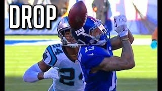 NFL Biggest Wide Open Pass Drops || HD (Part 3)