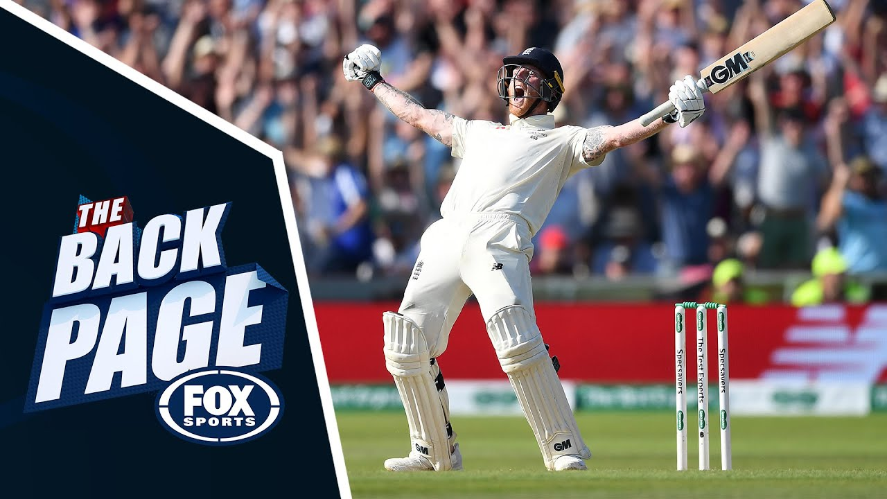 Download Ben Stokes' Headingley heroics   The Back Page