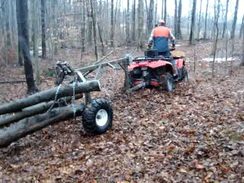 firewood with low impact logging.MPG