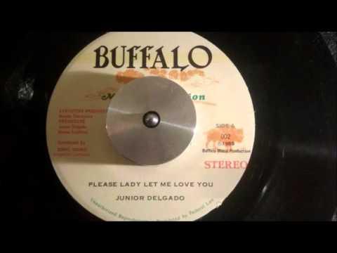 JUNIOR DELGADO  PLEASE LADY LET ME LOVE YOU