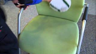 Office Chair Cleaning Cambridge Commercial Cleaning.wmv