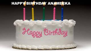 Anameeka - Cakes Pasteles_504 - Happy Birthday