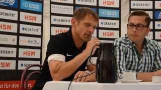 Pressekonferenz SC Pfullendorf - KSV Hessen Kassel
