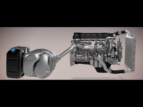 Truck Engine In Action (Animation)