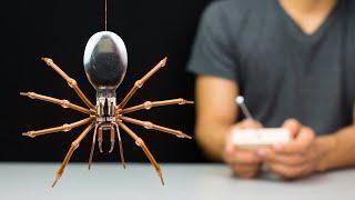 Uzaktan Kontrollü Örümcek Robot Yapmak için nasıl!