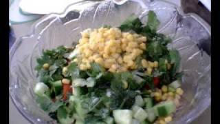 Chickpea Salad (k.i.s.s. Recipe)