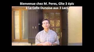 Gîte 3 épis à La Celle Dunoise, les 3 Lacs Creuse en Limousin