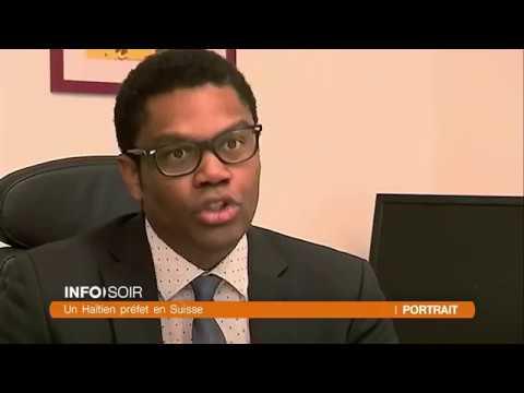 Carl- Alex Ridoré, un haïtien préfet en Suisse