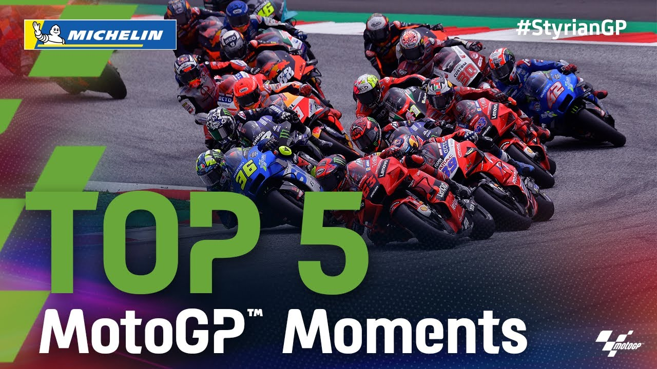 Download Top 5 MotoGP™ Moments by Michelin | 2021 #StyrianGP