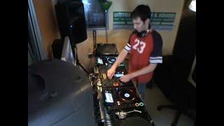 DJ David X - Old-School House Live Mix June 17 2012
