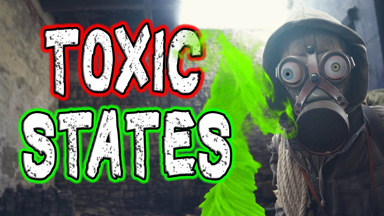 Top 10 Most Toxic States 2021.