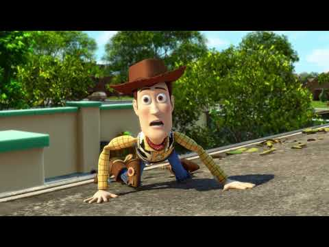Disney & Others Meets Toy Story 3 - Woody, Balto & Ryu Escape