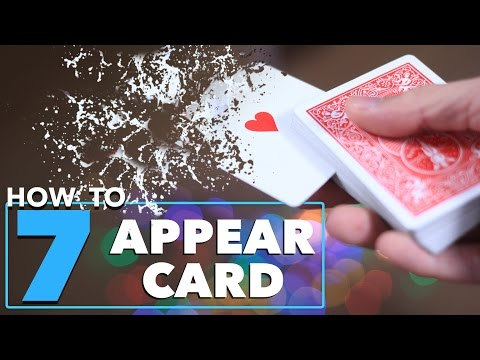 Thumbnail: 7 Magic Tricks to Make Cards Appear in Your Hands Tutorial