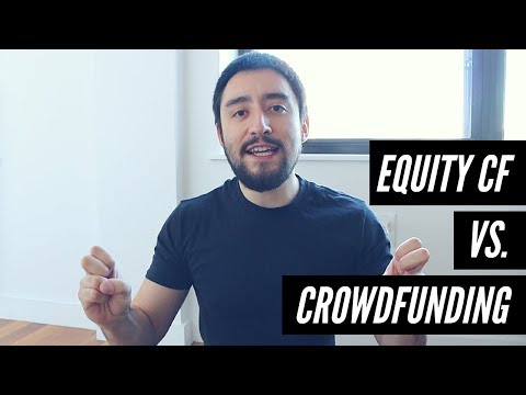 Crowdfunding vs Equity Crowdfunding