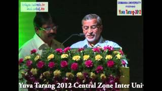 Yuva Tarang 2012 Central Zone Inter University Youth Festival  at Osmania University  Video 5