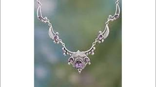 Amethyst Jewelry Images