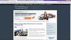 Auto Auto Insurance Renewal Automatic Renew