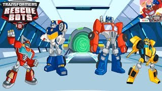 Transformers Rescue Bots Disaster Dash - Hero Run All Bots Unlocked Gameplay Part 4 (ios, android)