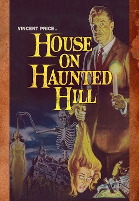 House On Haunted Hill 1959 Official Trailer Vincent Price Richard Long Horror Movie Hd Youtube