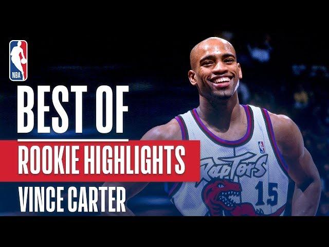Vince Carter's BEST NBA Rookie Highlights | 1998-1999 NBA Season
